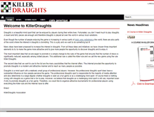 Tablet Preview of killerdraughts.org